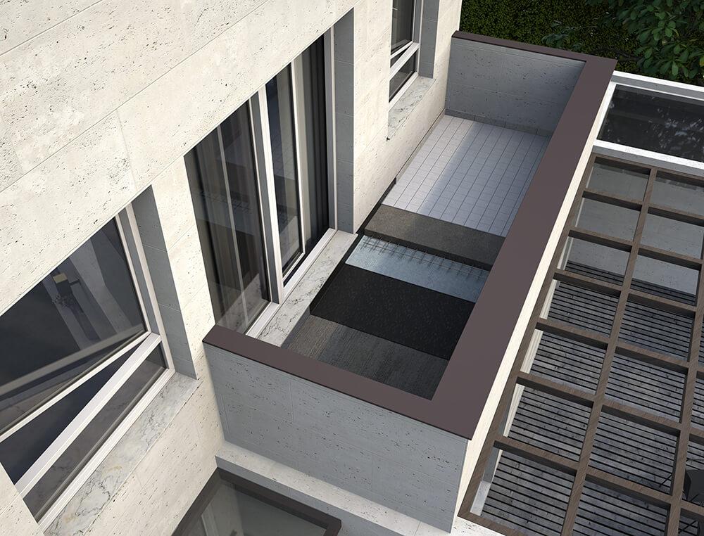 Beautiful mobile da terrazzo images idee arredamento for Mobile terrazzo legno