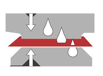 funzione filtrazione geosintetici edilfloor