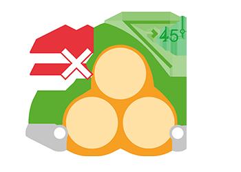 posa a 45 gradi flortex 55-160