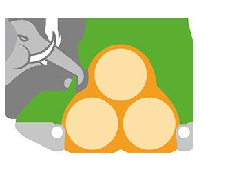 resistente allo strappo flortex 55-160