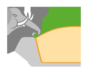resistente allo strappo flortex 55-500